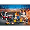 Playmobil: Advent Calendar Construction Site Fire Rescue