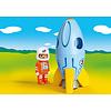 Playmobil:  Astronaut with Rocket