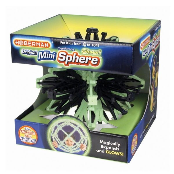 John Hansen Hoberman: Mini Sphere - Glowing Firefly