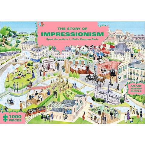 Chronicle: 1000 Pc The Story of Impressionism Jigsaw Puzzle