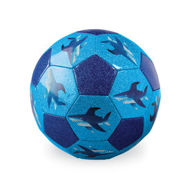 Crocodile Creek Crocodile Creek: Glitter Soccer Shark Ball