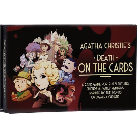 Asmodee: Agatha Christie: Death on the Cards