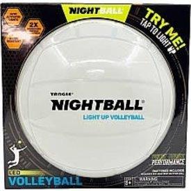 Tangle Tangle Nightball: NightBall Volleyball - White