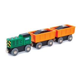 Hape Hape: Diesel Freight Train