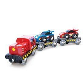 Hape Hape: Race Car Transporter