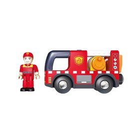 Hape Hape: Fire Truck with Siren