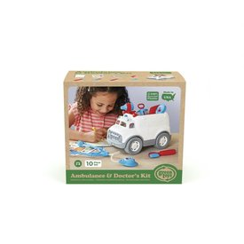 Green Toys Green Toys: Ambulance Playset
