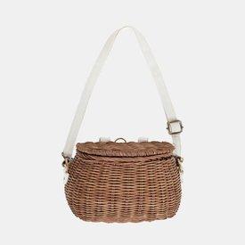 Olli Ella Olli Ella: Mini Chari Basket - Natural