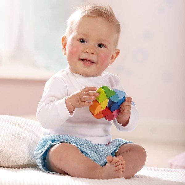 Haba Haba:  Clutching Toy Rainbow Ring