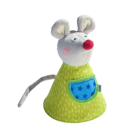 Haba:  Clutching Soft Toy Baggy the Mouse