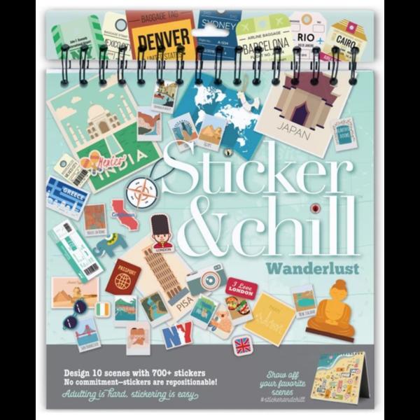 Ann Williams Ann Williams: Sticker & Chill Wanderlust