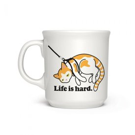 Fred's Fred's: Say Anything Mugs - Life is Hard
