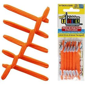 U-Lace U-Lace: Kiddo Neon Orange