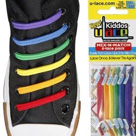 U-Lace U-Lace: Kiddo Limited Edition Rainbow
