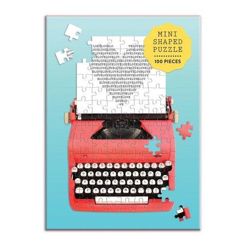 Chronicle: Mini vintage typewriter 100pc puzzle