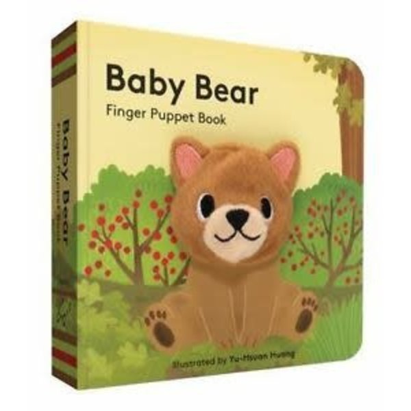 Chronicle Chronicle: Baby Bear Finger Puppet book