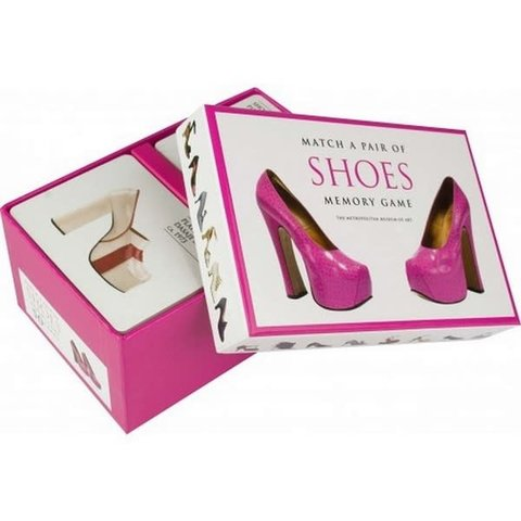 Chronicle: Match a pair of shoes memory game