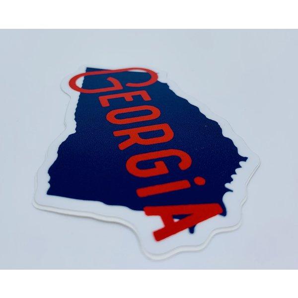 Stickers Northwest Stickers Northwest: Georgia Red & Navy Sticker