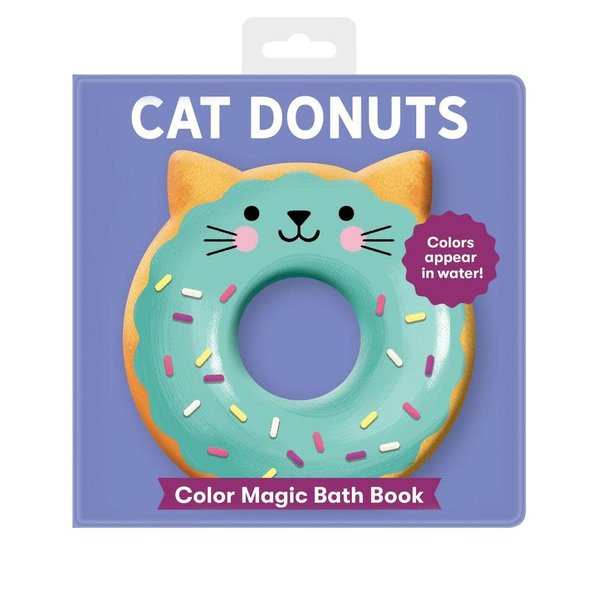 Chronicle Chronicle: Cat Donuts Color Magic Bath Book