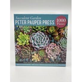 Peter Pauper Peter Pauper: Jigsaw Puzzle - Succulent Garden