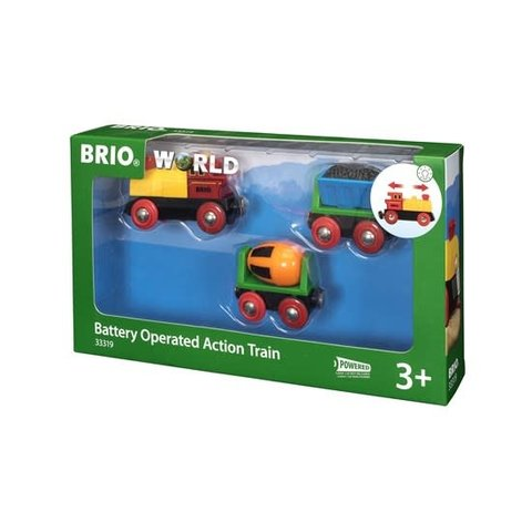 Brio: Battery Operated Action Train