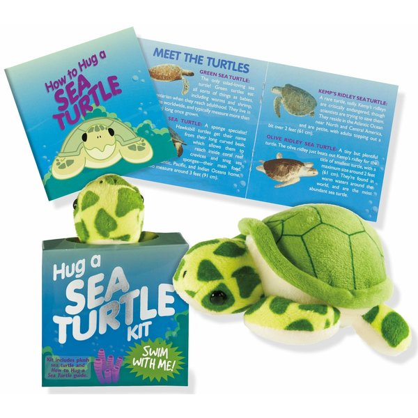 Peter Pauper Peter Pauper: Plush Kit Hug a Sea Turtle