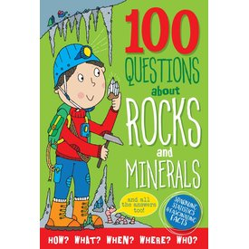 Peter Pauper Peter Pauper: 100 Questions about Rocks & Minerals