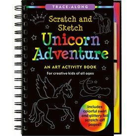 Peter Pauper Peter Pauper:  Scratch & Sketch Unicorn Adventure