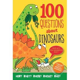Peter Pauper Peter Pauper: 100 Questions About Dinosaurs