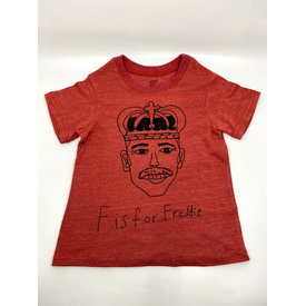 Anchors-n-Asteroids Anchors-n-Asteroids: F is for Freddie T-shirt Size 4