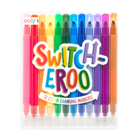 Ooly Ooly: Switch-eroo! Color Changing Markers 2.0 Set of 12
