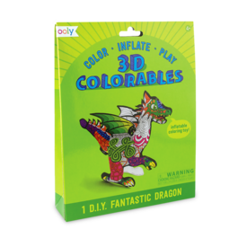 Ooly Ooly: 3D Colorables - Fantastic Dragons