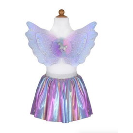 Great Pretender Great Pretenders: Magical Unicorn Skirt & Wings 4-6