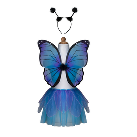Great Pretender Great Pretender: Midnight Butterfly Tutu w/ Wings & HB Size 4-6
