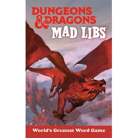 Penguin Random House Penguin: Dungeons & Dragons Mad Libs