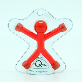 Nuop NUOP: Mini QMan Translucent Assorted (Sold Individually)