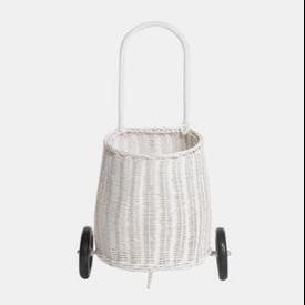 Olli Ella Olli Ella: Luggy Basket -White