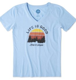Life is Good Keep It Simple Tee