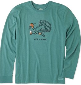 Life is Good Turkey Run L/S Tee