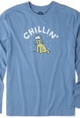 Life is Good Chillin' Rocket L/S Tee