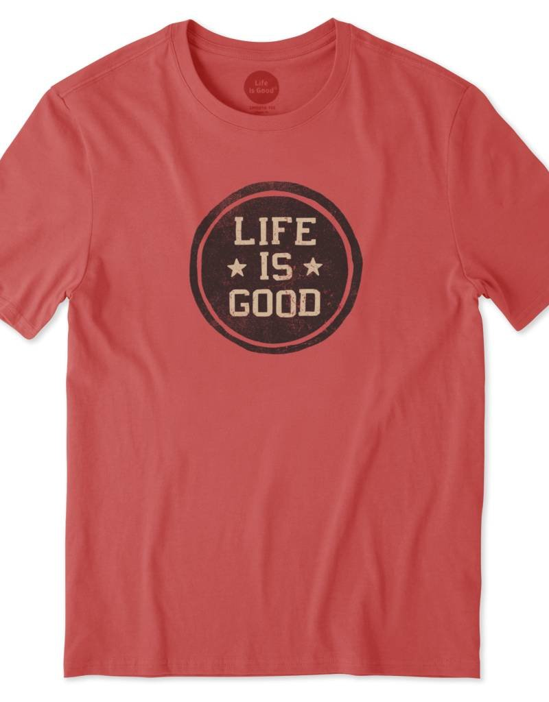 Life is Good LIG Stamp Tee