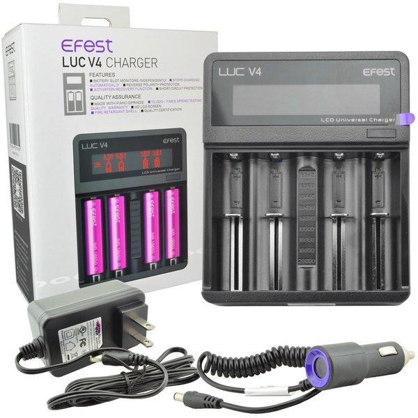 EFEST EFEST LUC V4 Quad Bay Battery Charger
