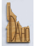 Idaho cutout coaster Set/4