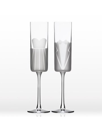 Wedding Cheers flutes S/2