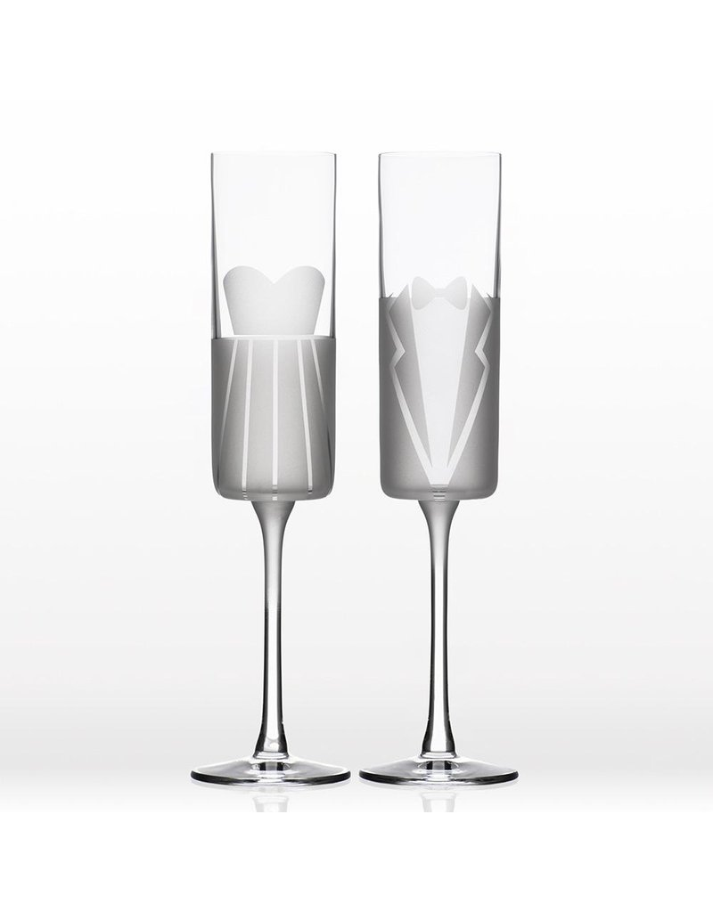 Wedding Cheers flutes S/2