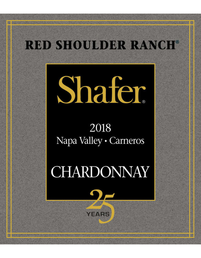 2018 Shafer Red Shoulder Ranch Chard