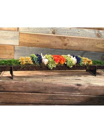 Garden trough floral