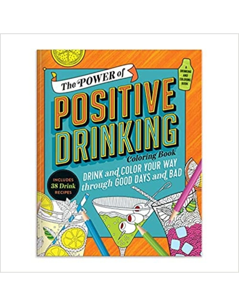 Power of Positive Drinking Coaster Book