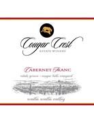 2017 Cougar Crest Cabernet Franc