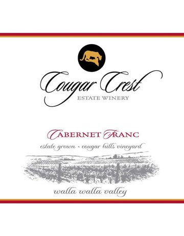2011 Cougar Crest Cabernet Franc